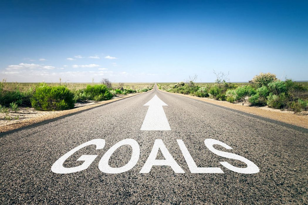 The path to goals
